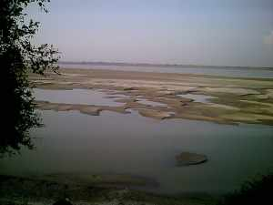 River Ganges Passing Through My Village