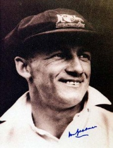 Sir Don  Bradman:Can We Ever Forget You ?