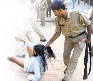 God's Devotee Beaten By Police