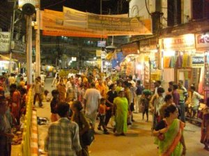 Varanasi In Night Time