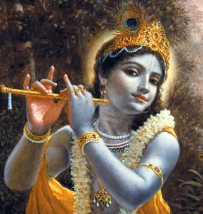 Lord Krishna:Singing Even In The Times Of War !