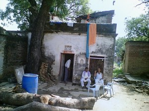 Blessings Of Elders One Needs Most:Father Lost In  Discussion At My Ancestral Home In My Village