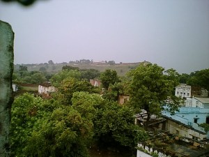 My Mother's Home Is Just Adjacent To Great Chunar Fort  !