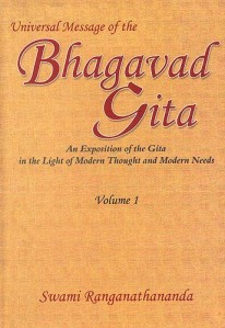 Universal Message Of Th Bhagavad Gita:Swami Ranganathananda
