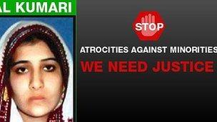 Hindu Girl Rinkal Kumari: Kidnapped and Converted To Islam