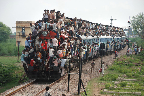Image result for india's population explosion caricatures