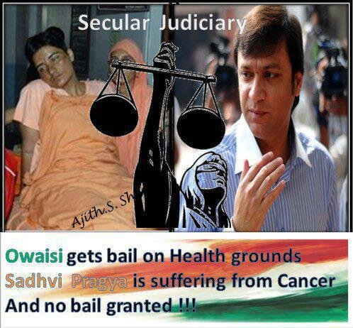 Sadhvi  Denied  Bail??