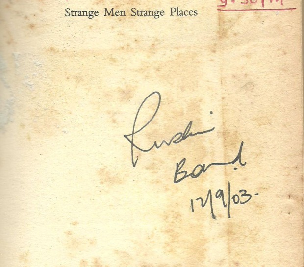 The impressions left by Ruskin can also be traced in my being!