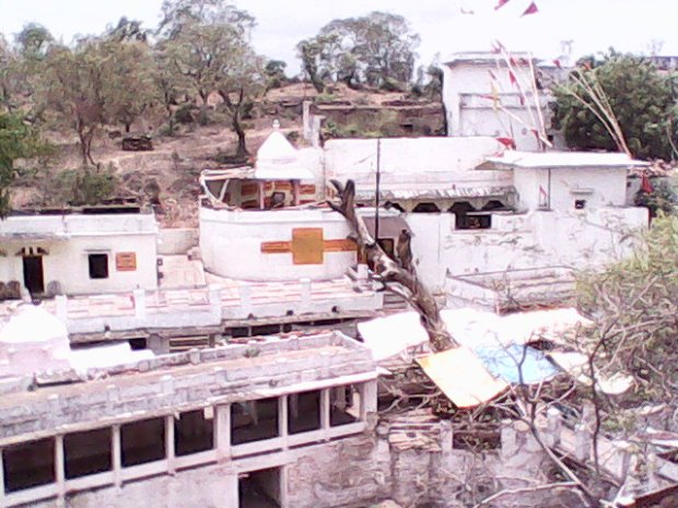 The Ancient Goddess  Durga Temple In Chunar Amid Vindhya Hills!