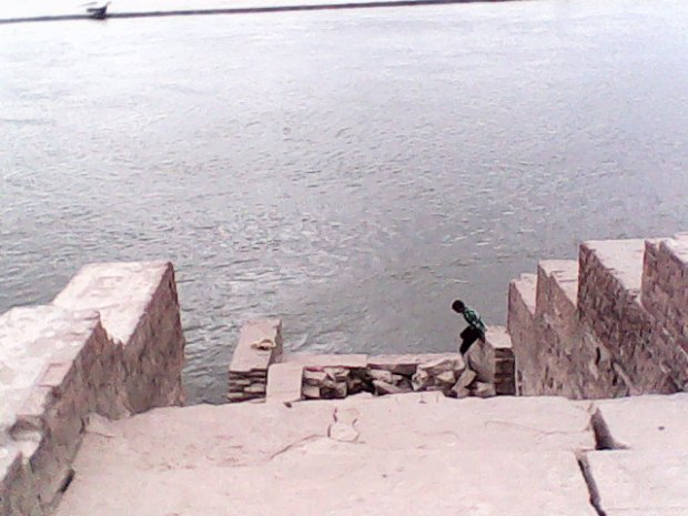 That's The Ghat Of Ganges!