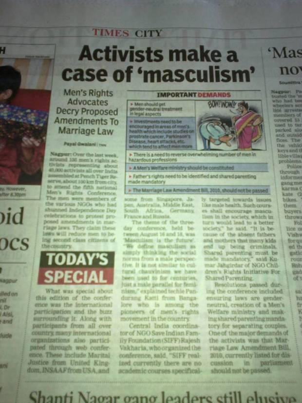 नागपुर का टाइम्स ऑफ़ इंडिया क्यों पीछे रहता भला