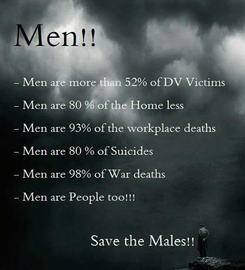 And That's Why It Has Become Necessary To Talk About Rights Of Men!!