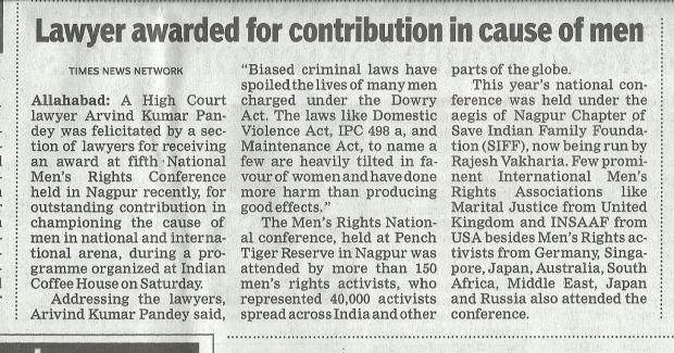 The News Got Captured By Prominent Newspapers Like The Times of India..