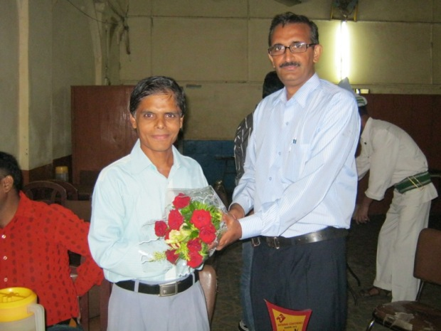 Rajesh Kumar Pandey, Legal Correspondent, Did Not Hesitate To Offer Me This Bouquet :P