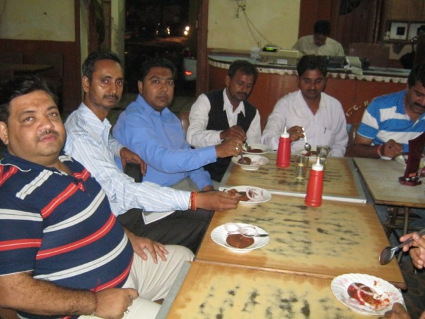 This Picture Is A Proof That We Also Came To Eat Something :P :P :P