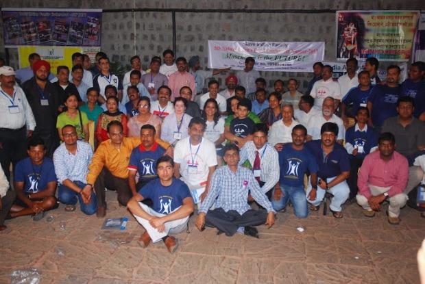 नागपुर  अधिवेशन में आये पुरुष अधिकारों को जाग्रत करने ये समर्पित कार्यकर्ता