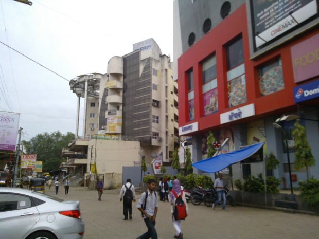 Eternity Mall..A Famous Spot For Youngsters  in Nagpur...Mall Culture Has Spread Like Jungle Fire...