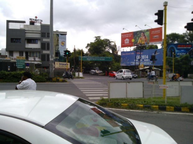 Street Crossing In Nagpur Is Called Square :P..This one is Ravi Nagar Square :P