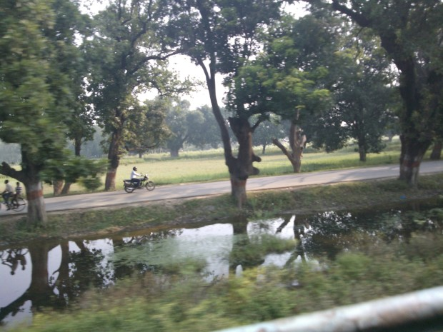 The road also leads to my village but I prefer rail journey...It's so romantic affair to be seated inside train's compartment :-) ...And I always prefer passenger trains for shorter journeys since it allows me to see life in totality!