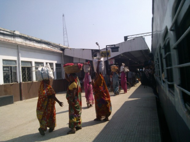 Mirzapur Station Is Where I Always  Get Off If I Am On Super-fast trains...Then I catch an auto for my village ...However,  I need not to worry since this is passenger train and it's bound to stop at my station :P