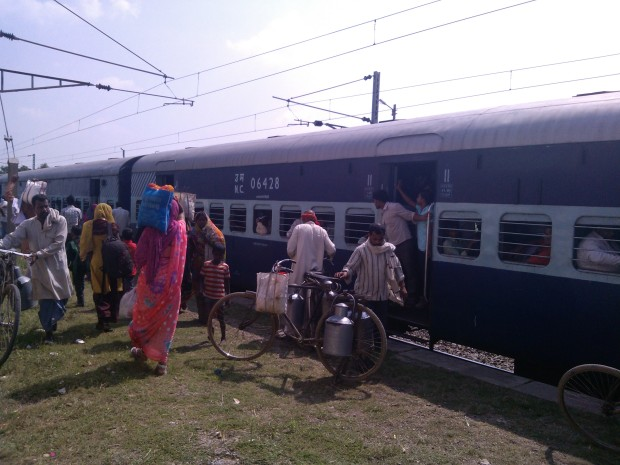So The Train Finally Reached At Pahara Station!