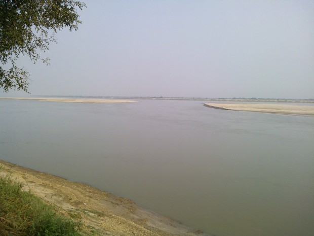 Ganges Shows Her Real Charishma In My Region :-)
