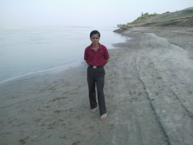 To Be Near Ganges Makes On Feel So Refreshed :-)