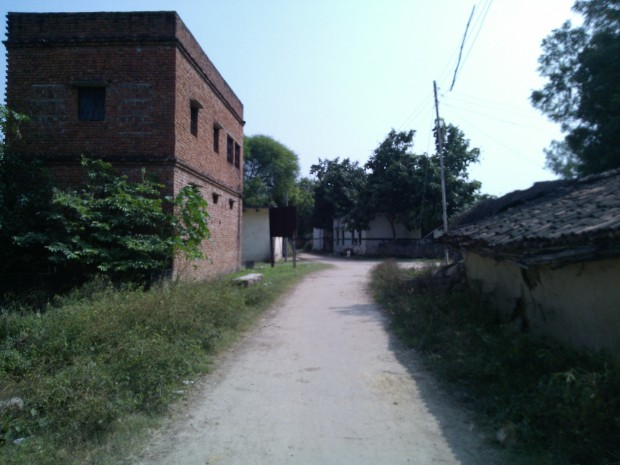 The outskirt of village!!