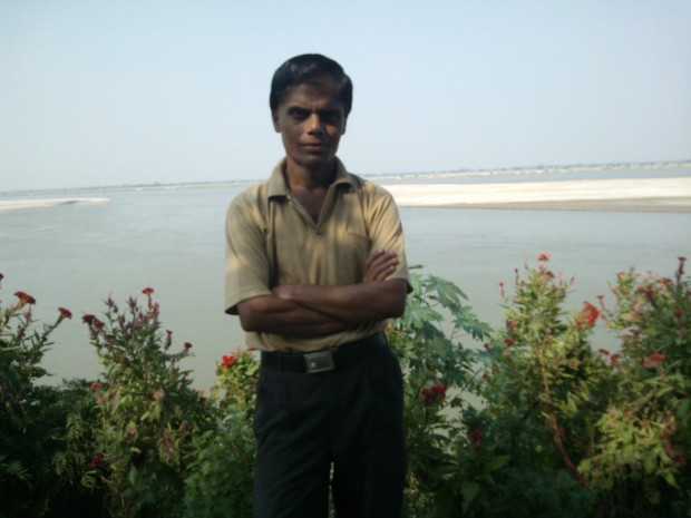 Hope Ganges Always Remains  Behind My Back :-)
