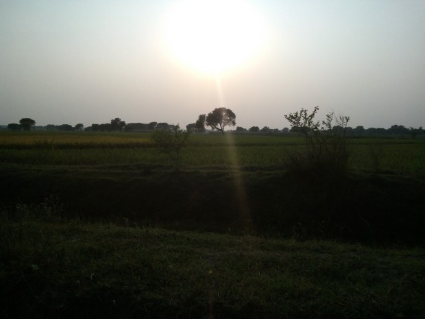 Evening Prevails In My Village!
