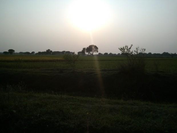 Evening Prevails In My Village!