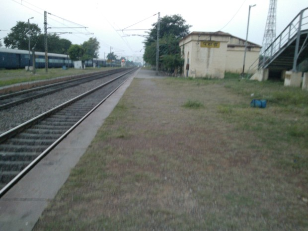I Never Get Annoyed When Train Gets Late At My Pahara Station :P :P
