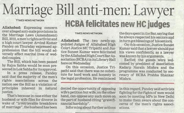 This News Item Appeared In The Allahabad Edition Of The Times Of India On December 19, 2013.