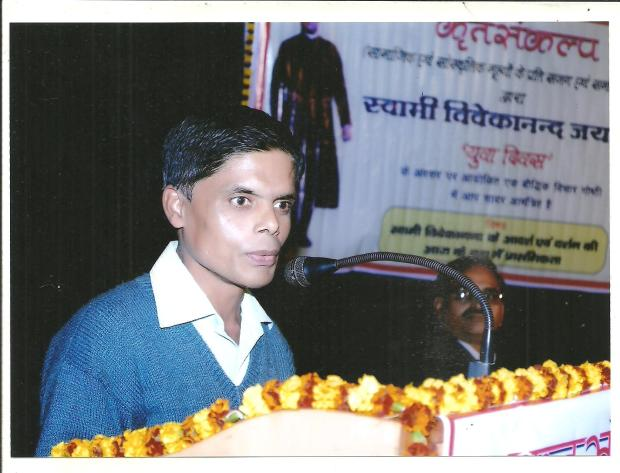Giving Speech In Allahabad Is A Great Feeling. After All, It's A Place Associated With Great Thinkers, Intellectuals And Writers!  I Gave The Speech At Jagat Taran Girls Degree College On January12, 2014. That's The Same Venue Where President Of India Pranab Mukherjee Also Delivered The Speech Some Days Back.