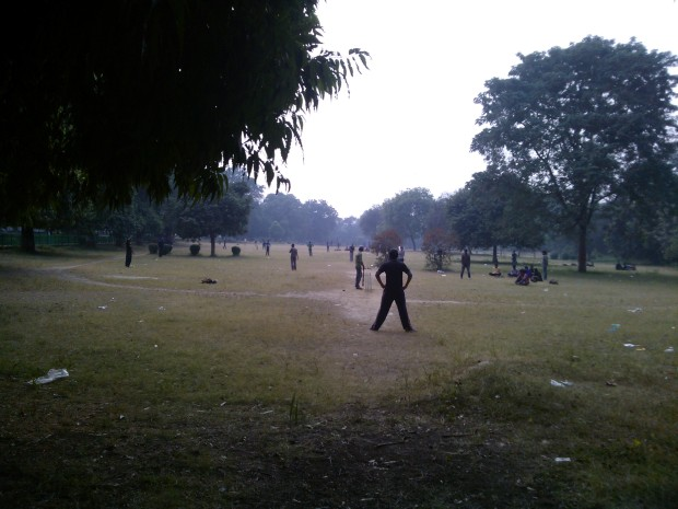 Just see the vastness of the park that many teams are playing at the same time :P :P :P