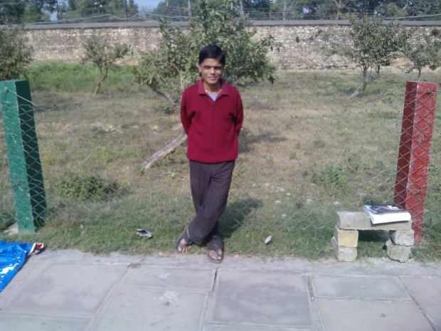 Myself at Khusro Bagh :-)