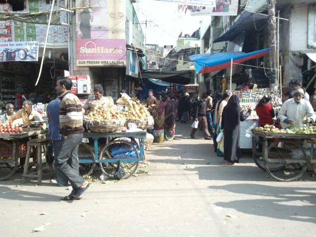 Another corner of Chowk Area.  This area comes in old Allahabad.