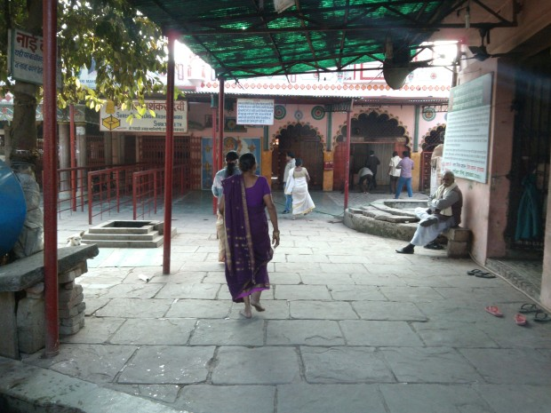 Inside view of Sri Alopi Devi's Temple :-)