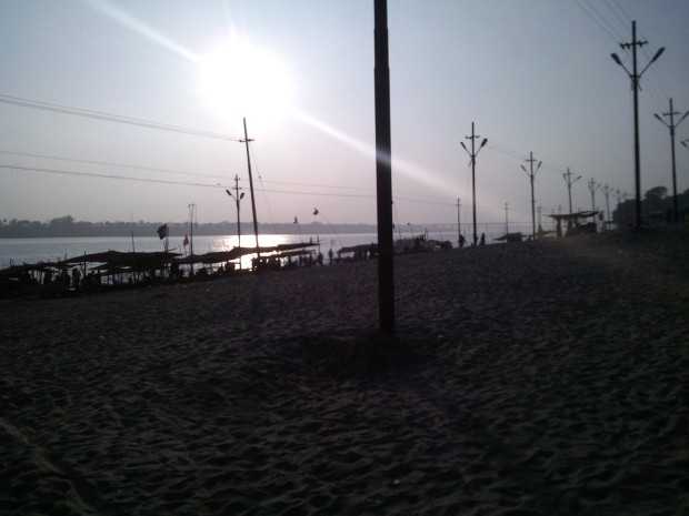 Evening Hours At Sangam :-) So Beautiful :-)