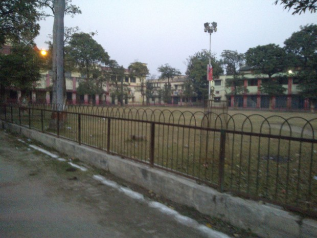 The park in which my science department friends played cricket during Chemistry hours :P