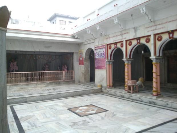 Inside View Of The Kalyani Deviji Temple :-)