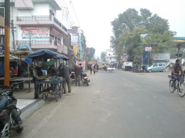 On the way towards Muthiganj :-)
