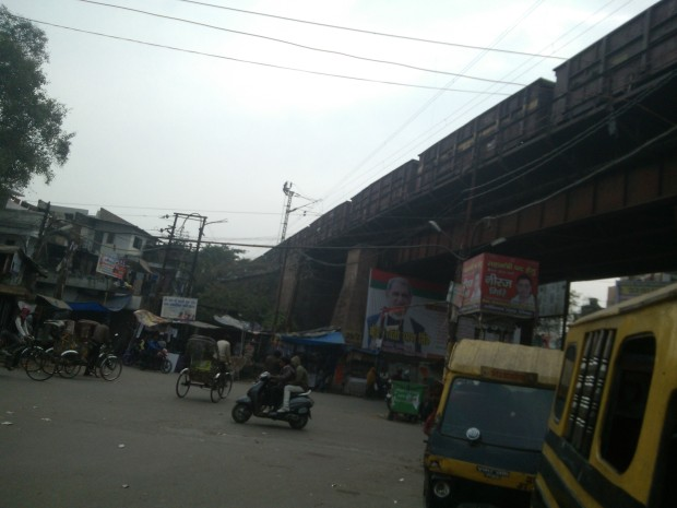 One of the busiest rail bridge!