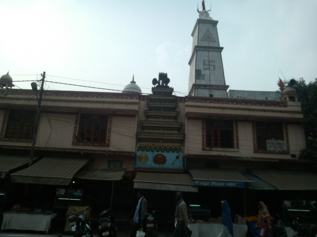 This Hanumanji's temple in Rambagh is also quite well-known temple in Allahabad :-) Hanumanji rocks in Allahabad :P