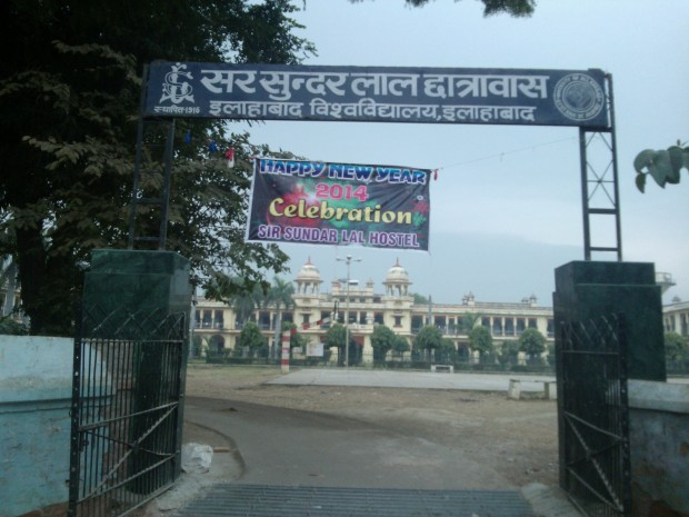 One of the eminent hostels associated with Allahabad University. It's named after Sir Sunder Lal, who in 1906 became the  the first Indian Vice Chancellor of Allahabad University!  He was by profession an advocate, who later also served as High Court Judge.