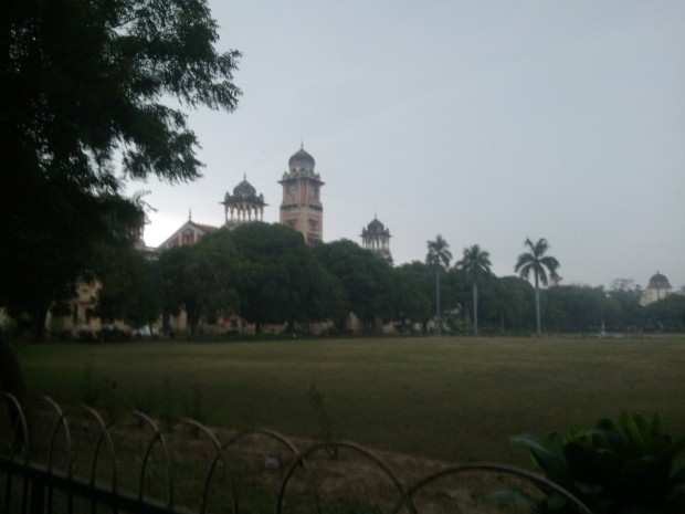 On The Campus Of Allahabad University :-)