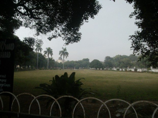 A beautiful park on the campus of University..Notice no love birds are present :P :P :P
