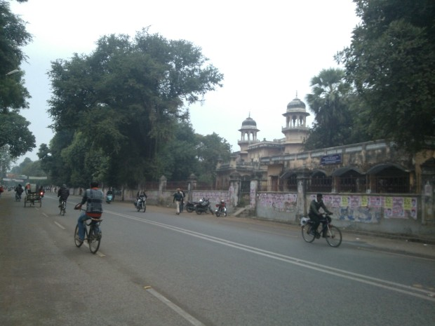 Loitering on these University Roads was one of the main activities of College Days!