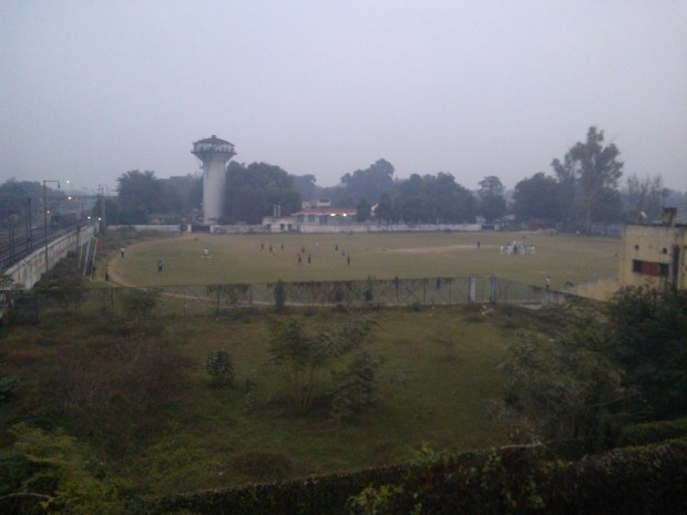 Sports Stadium Belonging To Railways!