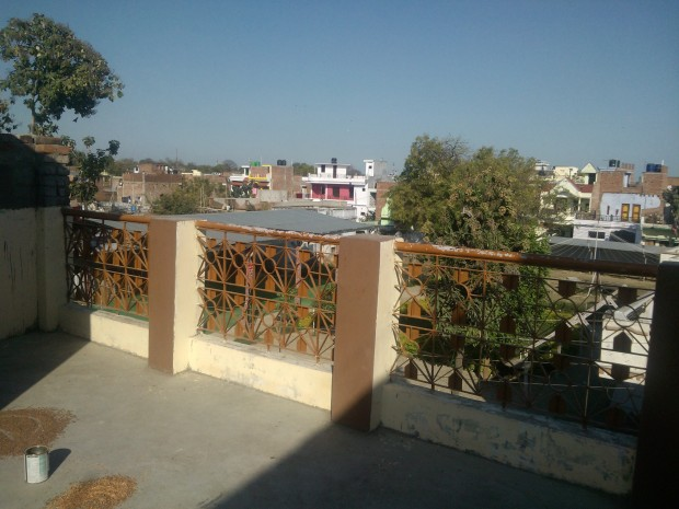 A Bird's Eye View Of My Locality From Rooftop Of My House :-) :-)